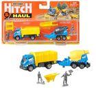 Matchbox: Hitch and Haul - MBX Construction Zone járműszett