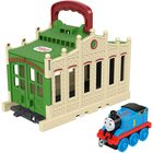 Locomotiva Thomas: Mini-set de joacă Connect and Go Thomas