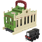 Locomotiva Thomas: Mini-set de joacă Connect and Go Diesel