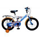 Pilot: Lazoni Bicicletă pentru copii - mărime 16, alb-albastru-portocaliu
