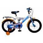 Pilot: Lazoni Gyermek kerékpár - 16-os méret, Fehér-kék-narancssárga