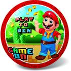 Minge de cauciuc cu model Super Mario Game On - 23 cm