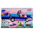L.O.L. Surprise: Dance Machine - mașinuță cabrio 3-în-1 și păpușă exclusivă