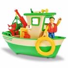 Pompierul Sam: Barca de pescuit cu figurina Charlies
