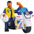 Sam, a tűzoltó: Rendőrségi motor Malcolm figurával