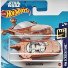Hot Wheels Screen Time: Star Wars X-34 Landspeeder kisautó