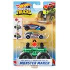 Hot Wheels: Monster Trucks szörnykészítő - többféle