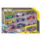 Metal Machines: Fém kisautó ajándék szett, 10 db-os