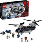 LEGO Marvel Super Heroes: Urmărire Văduvei Negre cu elicopterul 76162