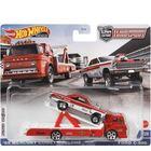 Hot Wheels: Team Transport - Mașinuță 65 Mercury Comet Cyclone și Ford C-800