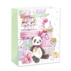Panda ajándékokkal ajándéktasak - 26 x 32 cm