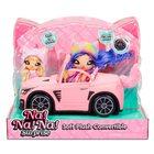 Na!Na!Na! Surprise: Cabrio roz de pluș cu urechi de pisoi