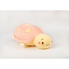 Plüss teknősbéka párna, 50 cm - rózsaszín