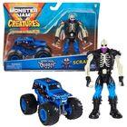 Monster Jam: Mașinuță Son-Uva Digger cu figurină Scrap