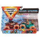 Monster Jam: Monster Mutt Rottweiler și Scooby-Doo - set cu 2 mașinuțe culori schimbătoare