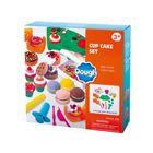Playgo: Cupcake készítő gyurmaszett