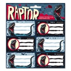 Ars Una: Raptor - etichete caiete 18 buc.