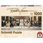 Schmidt: Renato Casoro: Hírességek vacsorája 1000 db-os panoráma puzzle