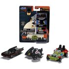 DC Batman: Classic TV Series mini kisautó szett, 3 db-os