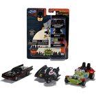 DC Batman: Classic TV Series - set de 3 mini-mașinuțe