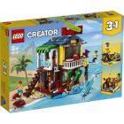 LEGO Creator: Tengerparti ház szörfösöknek 31118 - CSOMAGOLÁSSÉRÜLT