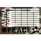 PEACE: Orar de dimensiune mare