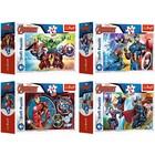 Trefl: Marvel Bosszúállók mini puzzle - 54 darabos, többféle