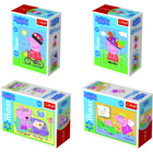Trefl: Peppa Malac minimaxi puzzle - 20 darabos, többféle