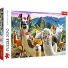 Trefl: Lámák a hegyen 500 db-s puzzle