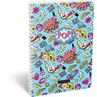 Lollipop POP: Caiet cu pătrățele A4 - cu spirală