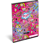 Lollipop POP: caiet cu pătrățele, capsat - A4