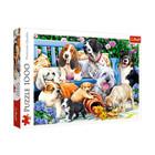 Trefl: Câini în grădină - puzzle cu 1000 piese
