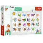 Trefl: Alfabetul - puzzle educativ cu 34 de piese, în lb. maghiară