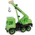 Wader: Middle Truck camion cu macara - 43 cm, verde
