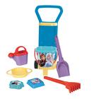 Wader: Frozen - cărucior cu set pentru nisip - diferite