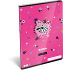 Lollipop: Raccoon Sweetie caiet cu linii - A4