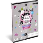 Lollipop: Raccoon Sweetie caiet cu linii pentru clasa a II-a - A5
