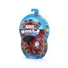 Wooblies Marvel: Meglepetés csomag, 3 db figura kilövővel