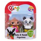Bing és barátai: Sula és Pando 2 darabos műanyag figura szett