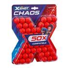 X-Shot: Set de 50 proiectile de spumă pentru armele Chaos
