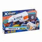Xshot: Excel Reflex 6 armă de jucărie cu 16 proiectile de spumă