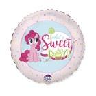 My Little Pony: Balon folie cu model Pinkie Pie - Sweet Day - 46 cm