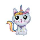 Balon folie Pisică unicorn - 61 cm