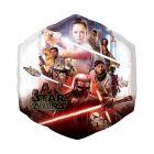 Star Wars: Balon folie cu model Skywalker - 55 x 58 cm