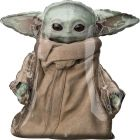 Star Wars Mandalorian: Baby Yoda lebegő fólia lufi, 78 cm