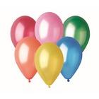 Set de 10 baloane colorate în nuanțe metalice - 25 cm