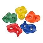 Mászókő készlet 5 darabos, műanyag - közepes méretben