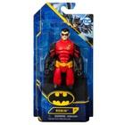 DC Batman: Figurină de acțiune Robin îmbrăcat în roșu - 15 cm