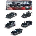 Majorette Black edition 5 darabos autó szett