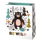 Be Wild macis dísztasak - 17 x 10 x 23 cm